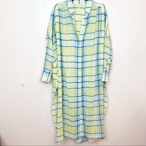 """Free People """"By My Side"""" Maxi Tunic Duster 